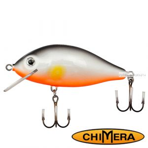 Воблер Chimera Siver Fox Karas 70SR  / цвет: 002 / 70 мм / 11 гр/ Заглубление: 0,2-0,7м