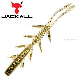 "Мягкая приманка Jackall Scissor Comb 2,5""   / упаковка 10 шт / цвет: ikanago greenpumpkin pearl"