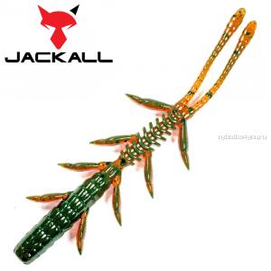 """Мягкая приманка Jackall Scissor Comb 3,0""""   / упаковка 8 шт / цвет: motor oil"""