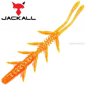 "Мягкая приманка Jackall Scissor Comb 3,8""   / упаковка 7 шт / цвет: orange gold"