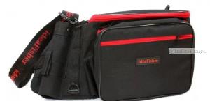Stakan-3.2 ЧЕРНЫЙ Пояс–держатель удилища + сумка спиннингиста
