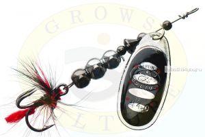 Блесна Grows Culture Ball Bearing Spinner 4.0 #   / цвет:  №1 / 11,5 гр / 4 см