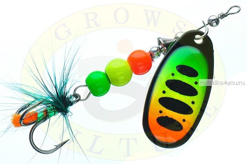 Купить Блесна Grows Culture Ball Bearing Spinner 4.0 # / цвет: №3 11,5 гр 4 см