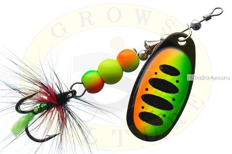 Купить Блесна Grows Culture Ball Bearing Spinner 4.0 # / цвет: №4 11,5 гр 4 см