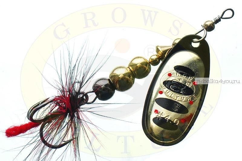 Купить Блесна Grows Culture Ball Bearing Spinner 4.0 # / цвет: №5 11,5 гр 4 см