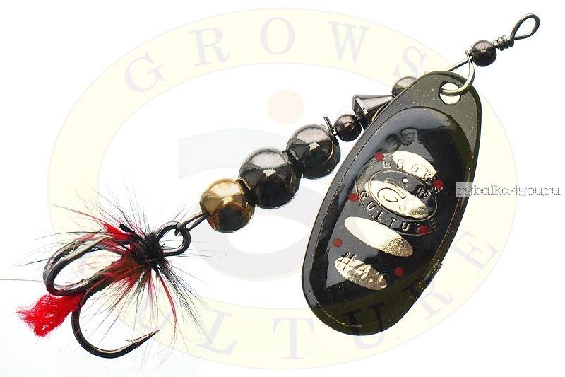 Купить Блесна Grows Culture Ball Bearing Spinner 4.0 # / цвет: №8 11,5 гр 4 см