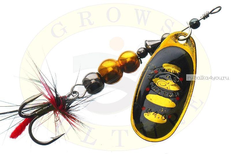 Купить Блесна Grows Culture Ball Bearing Spinner 4.0 # / цвет: №9 11,5 гр 4 см