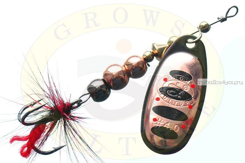 Купить Блесна Grows Culture Ball Bearing Spinner 4.0 # / цвет: №10 11,5 гр 4 см
