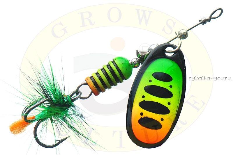 Купить Блесна Grows Culture Synchrony 2.5# / цвет: №3 6 гр 3,3 см