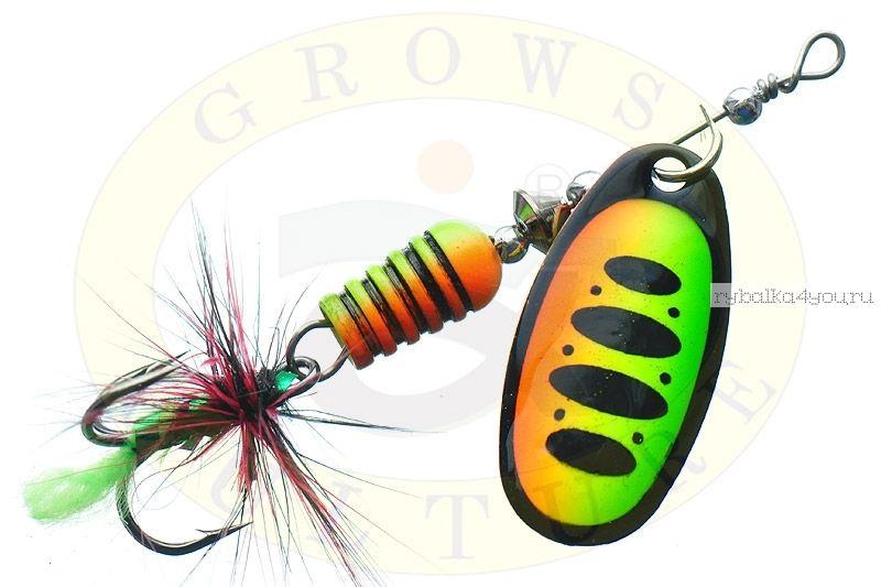 Купить Блесна Grows Culture Synchrony 2.5# / цвет: №4 6 гр 3,3 см