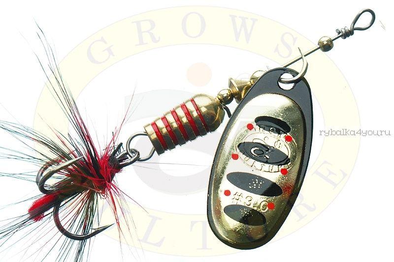Купить Блесна Grows Culture Synchrony 2.5# / цвет: №5 6 гр 3,3 см
