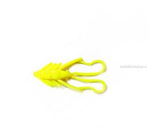 "Мягкая приманка Trout Zone Nymph 1.6"" / 4 см / упаковка  12 шт / цвет: шартрез /аттракант : икра (тест)"
