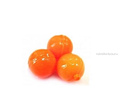 Купить Мягкая приманка Trout Zone Boil 12мм (плавающ.) / упаковка 20 шт цвет: оранжевый /аттракант: краб