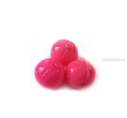 Купить Мягкая приманка Trout Zone Boil 12мм (плавающ.) / упаковка 20 шт цвет: розовый /аттракант: креветка