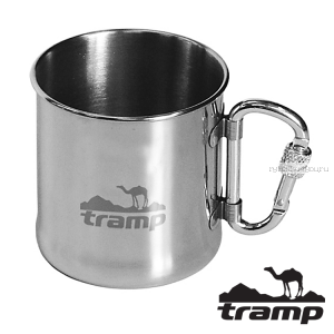Кружка с карабтном Tramp 300ml TRC-012