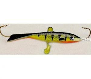"""Балансир SURF с монолитным хвостом """" Fllipper """" разм. 60мм,  вес 14гр., цв. 10"""