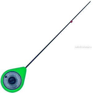 Балалайка Bravo fishing SPZ-G стеклопластиковый хлыстик ( зелёная)