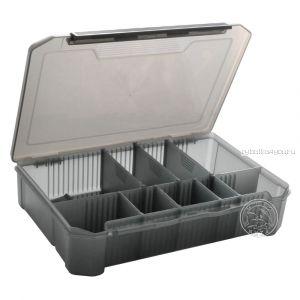 Коробка  для карповых принадлежностей КДК-33 дымка (260*175*60мм)