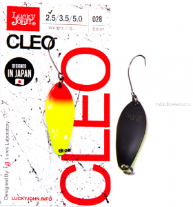 Блесна Lucky John Cleo 2,5гр / цвет: 028