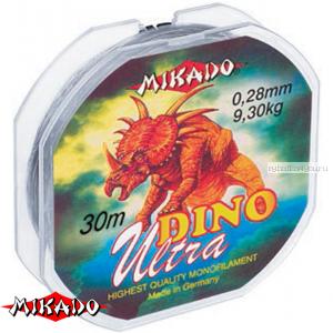 Леска мононить Mikado Dino Ultra 30 м