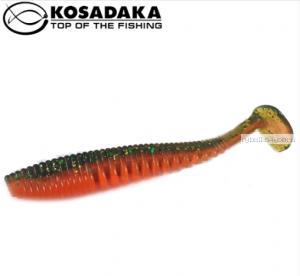 Виброхвост Kosadaka Awaruna 100, 5шт., цвет DM AWA-100-DM