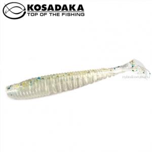 Виброхвост Kosadaka Awaruna 100, 5шт., цвет GTR AWA-100-GTR