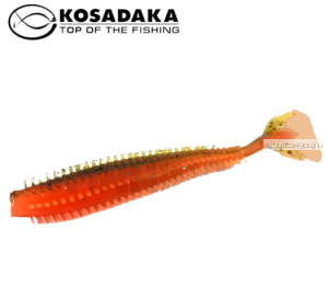Виброхвост Kosadaka Spikey Shad 90, 9шт., цвет DM SSH-090-DM