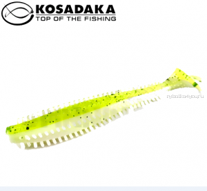 Виброхвост Kosadaka Spikey Shad 90, 9шт., цвет WG SSH-090-WG