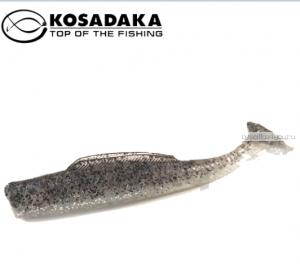 Виброхвост Kosadaka Weedless Minnow 65, 6шт., цвет SR WM-065-SR