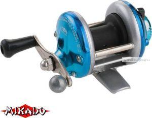 Катушка мультипликаторная Mikado MINITROLL MT 1000 цвет: синий