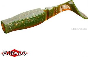"""Виброхвост Mikado Fishunter 2 """"съедобная резина"""" 7.5 см. /цвет:  349  уп.=5 шт."""