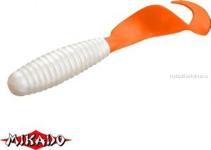 Твистер Mikado Twister 38 мм. /цвет:  01TOT  уп.=10 шт.