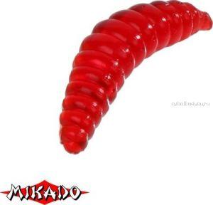 Личинка пчелы силиконовая Mikado Trout Campione  (чеснок) 2.0 см. / 003