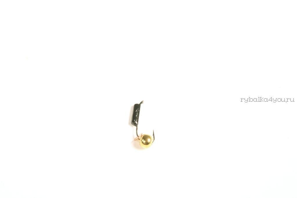Купить Мормышка вольфрамовая True Weight Гвоздешарик гвоздик d2,0 шарик медный(10шт)