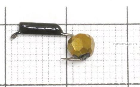 Купить Мормышка вольфрамовая True Weight Гвоздешарик гвоздик d2,5 Многогранное золото