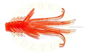 Мягкая приманка Grows Culture  Nymph Trout Red Bass 50 мм(съедобные) цвет Orange G