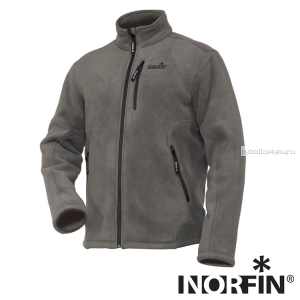 Куртка флисовая Norfin North Grey