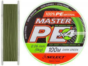 Шнур Select Master PE 100 м / цвет: темн.-зеленый