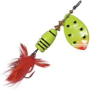 Блесна Extreme Fishing Total Obsession №2 / 7 гр / цвет:  14-FluoYellow/FluoYe
